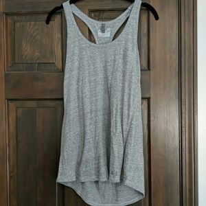 Under Armour grey semi fitted tank